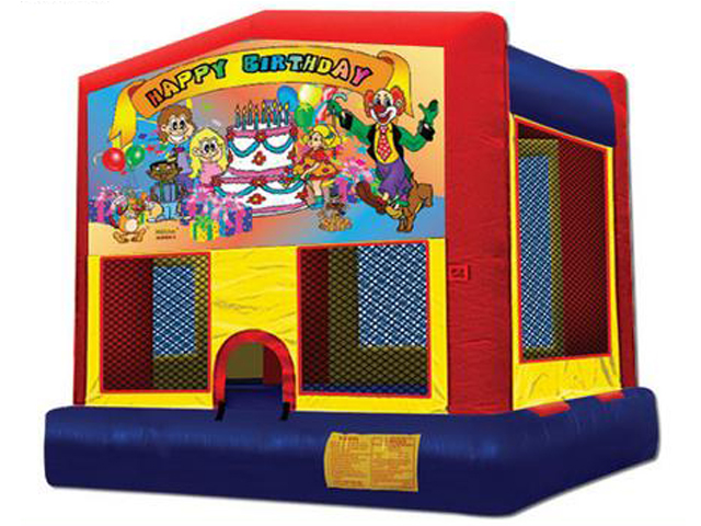 Happy Birthday Panel Bounce House / Click Here...