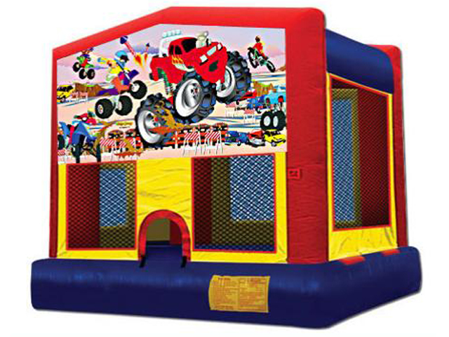 Monster Truck Panel Bounce House / Click Here...