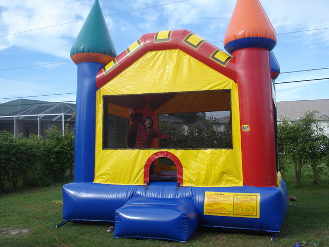 Multicolor Castle Bounce House / Click Here...