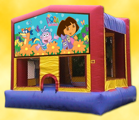 Dora Panel Bounce House / Click Here...