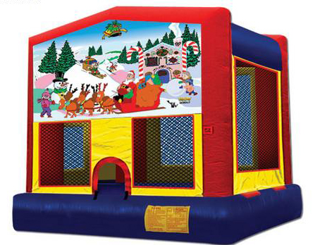 Christmas Panel Bounce House / Click Here...