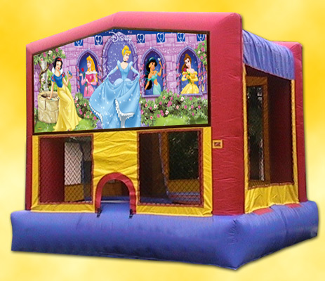 Disney Princess Panel Bounce House / Click Here...