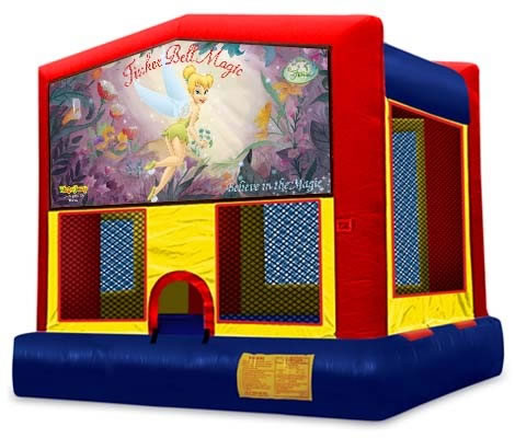 Thinker Bell Panel Bounce House / Click Here...