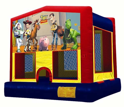 Toy Story Panel Bounce House / Click Here...