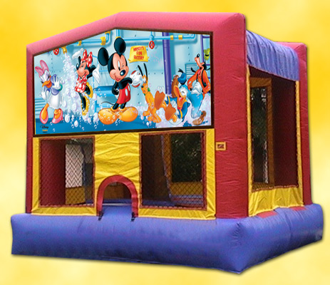 Mickey and Friends Bounce House / Click Here...