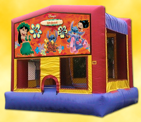 Lilo and Stitch Panel Bounce House / Click Here...