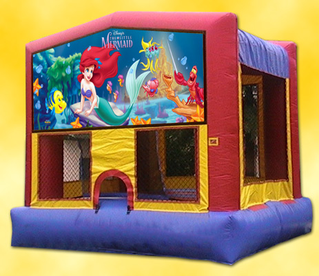 Little Mermaid Panel Bounce House / Click Here...