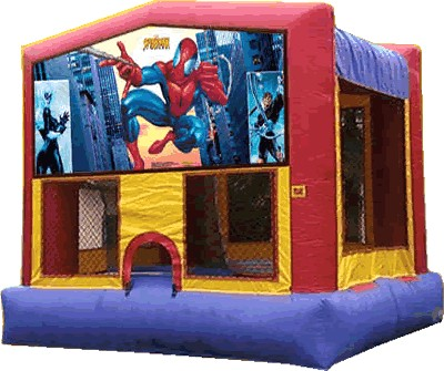 Spiderman Panel Bounce House / Click Here...