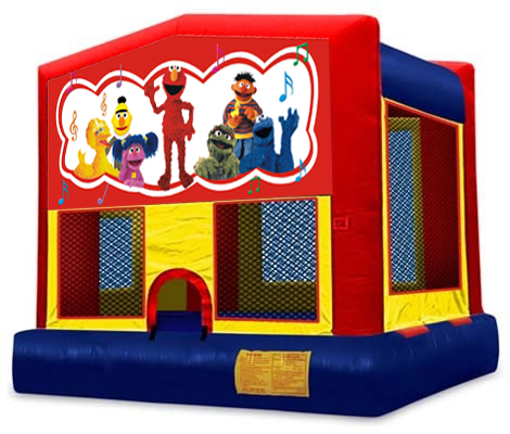 Sesame Street Panel Bounce House / Click Here...