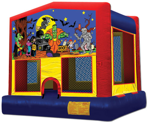 Halloween Panel Bounce House / Click Here...