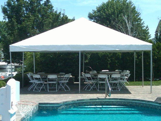 Frame Tent Rentals | Pop Pop Gazebos, Tables and Chairs in Palm ...