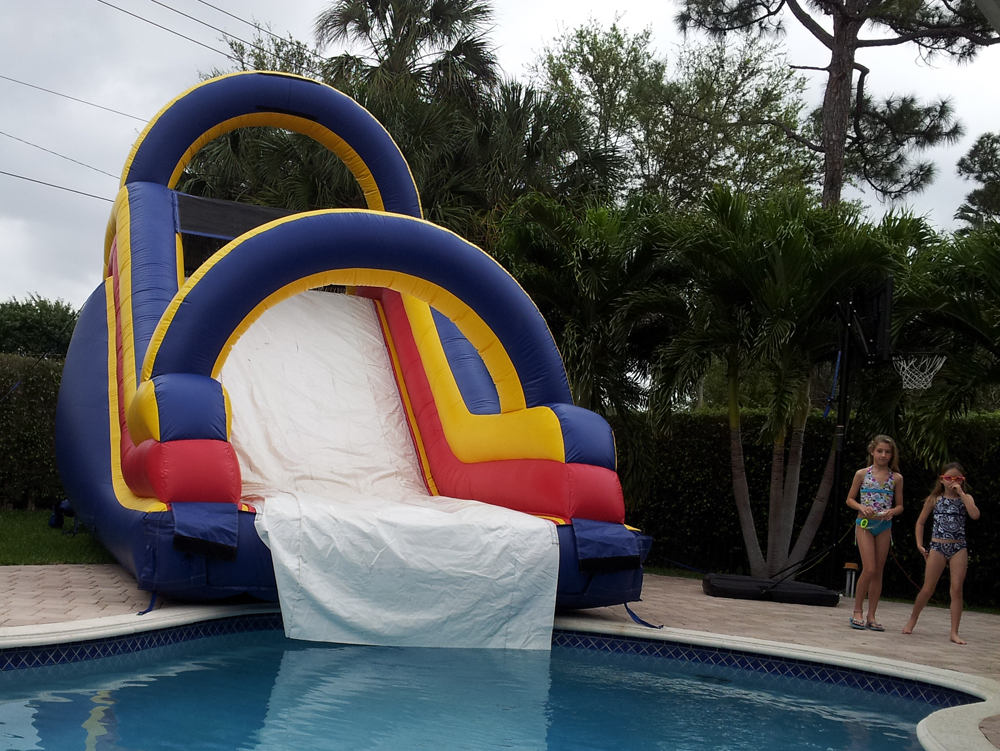 Water And Dry Slides Rentals In Palm Beach And Port St Lucie